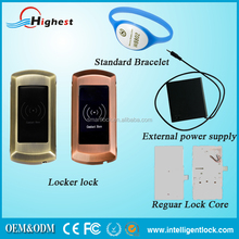 Electronic Rfid card smart keyless cabinet Lock for SPA center locker lock safety protection