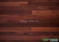Prefinished dark jarrah engineered wood flooring