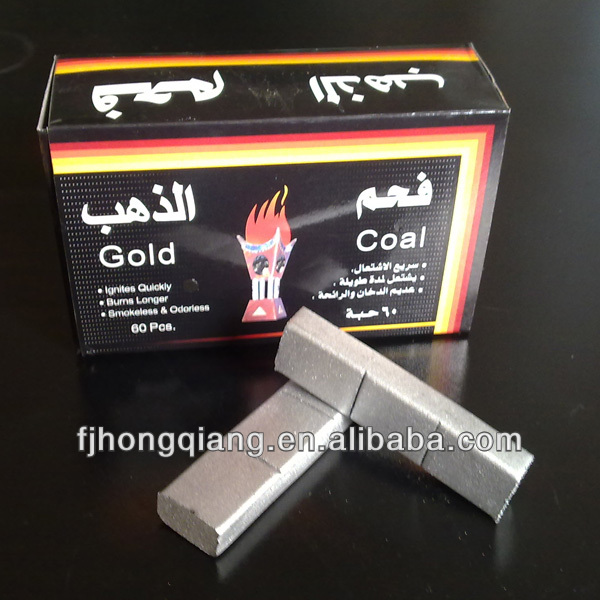 Smokeless silver torch hookah coal