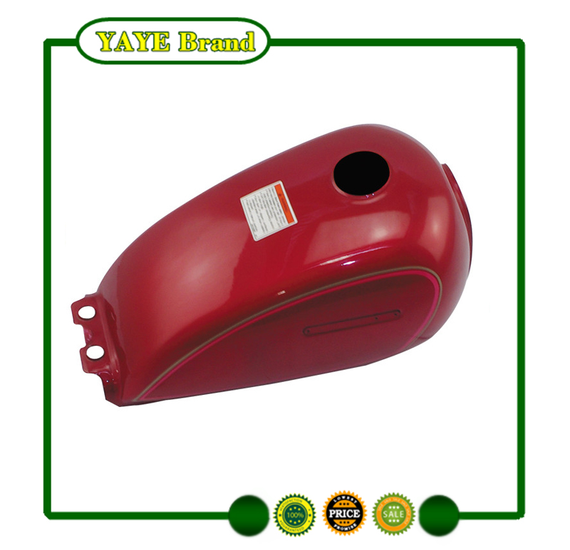 High Quality Motorcycle Spare parts GN125 Fuel Tank red color