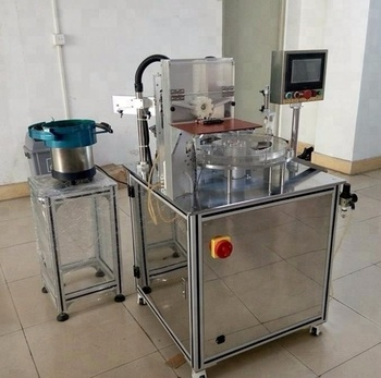 LM-C1200 thick CBD THC oil cartridge filling and capping machine