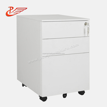 New Design 3 Drawer Mobile Storage Pedestal Cabinet