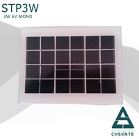 CE approved 3w monocrystalline solar energy low price mini solar panel