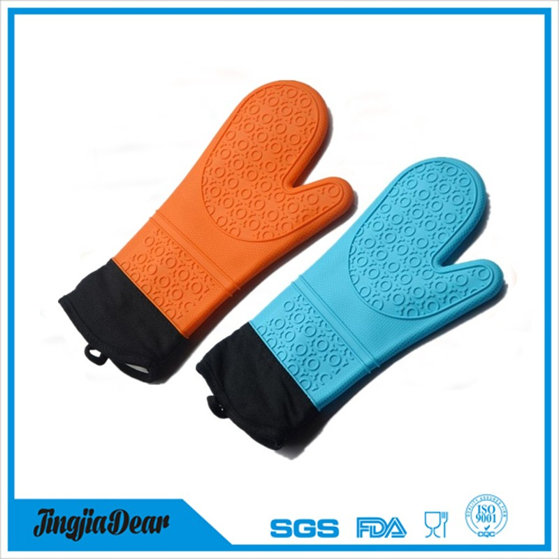 Fancy microwave heated silicone finger tips gloves