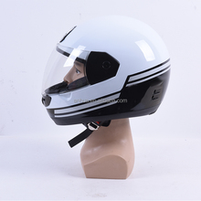 Hot selling white adult motorcycle helmets