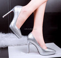 women high heel dress shoes accept sample big size order wedding shoes PMS4188