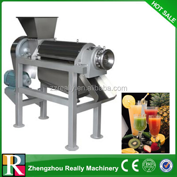 stainless steel fruit/vegetable crusher and juicer/cactus,tomato spiral juicer/fruit juice