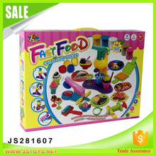 hot sale trolltech ice cream color clay toy choi mud play set