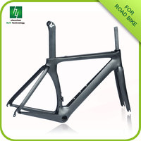 carbon road bike frame HQR03 3K/UD/12K free with fork, headset and Seat post