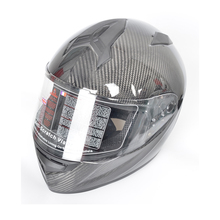 Top quality aerospace grade 3K glossy carbon helmet for motorcycle accessories