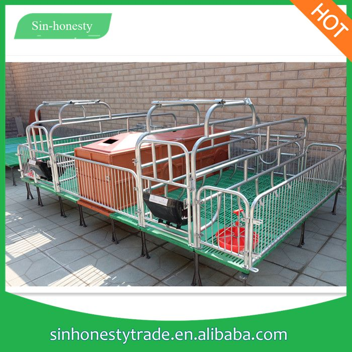 sow hog swine pig farrowing breeding crates house pen stall cages for sale