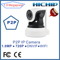 720P Indoor Wireless Wifi Network Security Camera IP Camera Two-way Audio Support SD Card