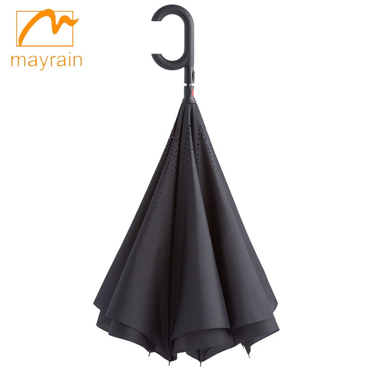 Promotional Folding Inverted Reverse Umbrella