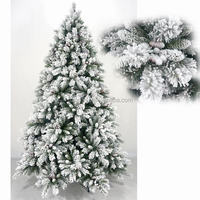 California pine unique artificial flocked christmas tree