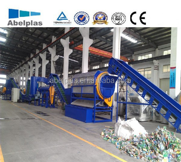plastic PET bottle recycling machine/line