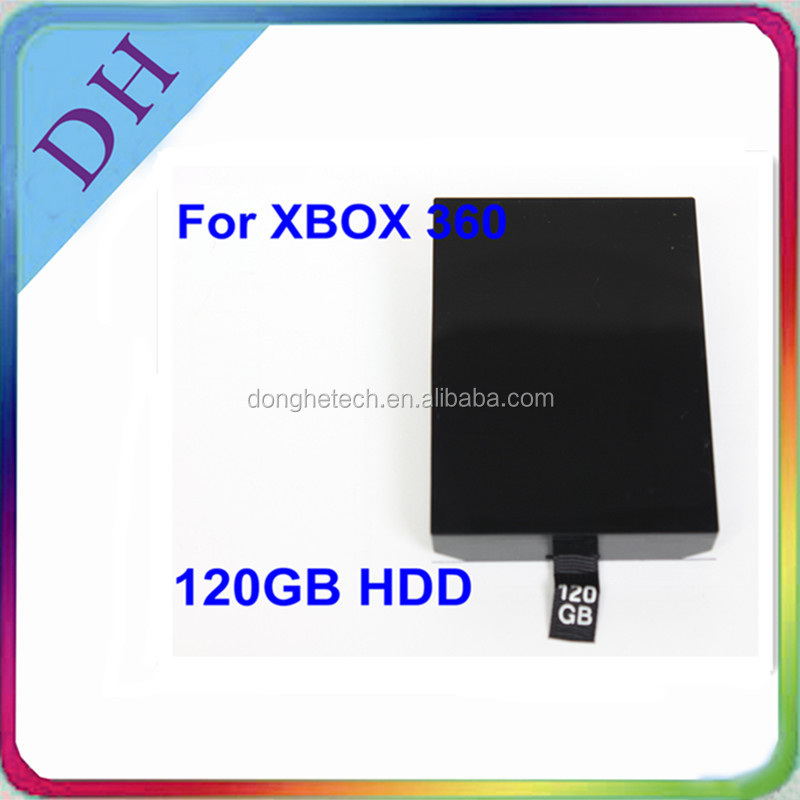 Cheap price original !!!120gb HDD Game console for xbox360 slim video game console
