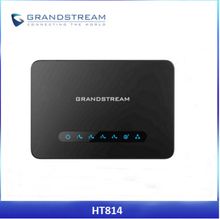 Very Low Cost Grandstream HT814 ATA GSM IP Voice VoIP Gateway Adapter