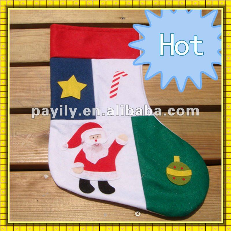 new design christmas product 2012 hot sale christmas sock