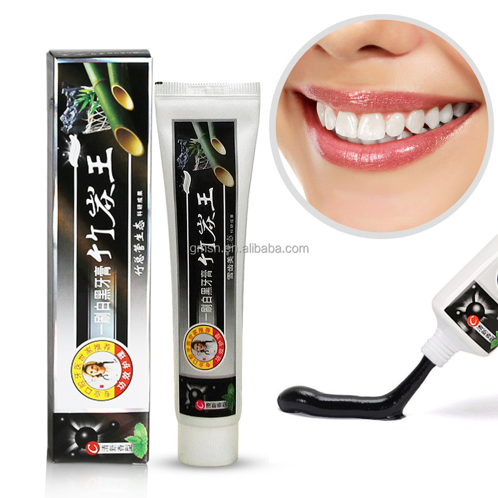 2017 Hot Sell black Bamboo Charcoal Toothpaste Black Toothpaste With Cheap Price