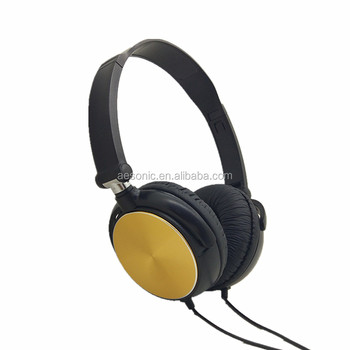 2016 top-selling foldable new design music/mobile headphone