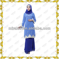MF20859 2013 modern baju kurung and kebaya fashion