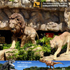 MY Dino-N94 life size tiger and lion statue molds for park and gardon decoration