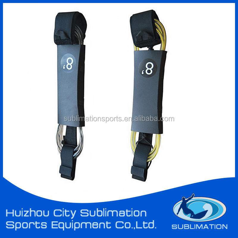 High Quality Surf Leash/ Sup Leash/custom Surfboard Leash plug