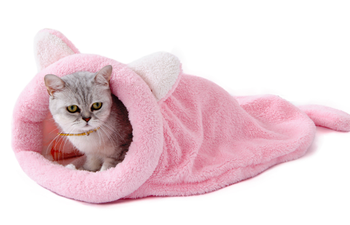 Warm Sleeping bag cute Cat House Pet Nest wholesale pet bed