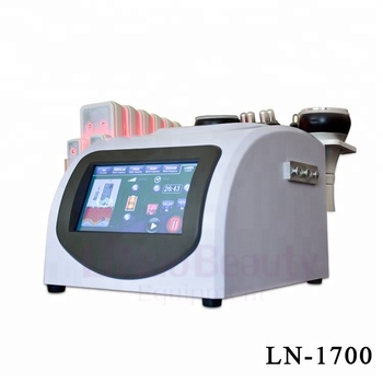 Multi-polar RF ultrasonic Vacuum 40K Cavitation machine cavitation rf slimming Machine with lipo laser