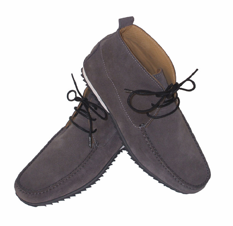Driving boots in suede, nubuck or calf leather