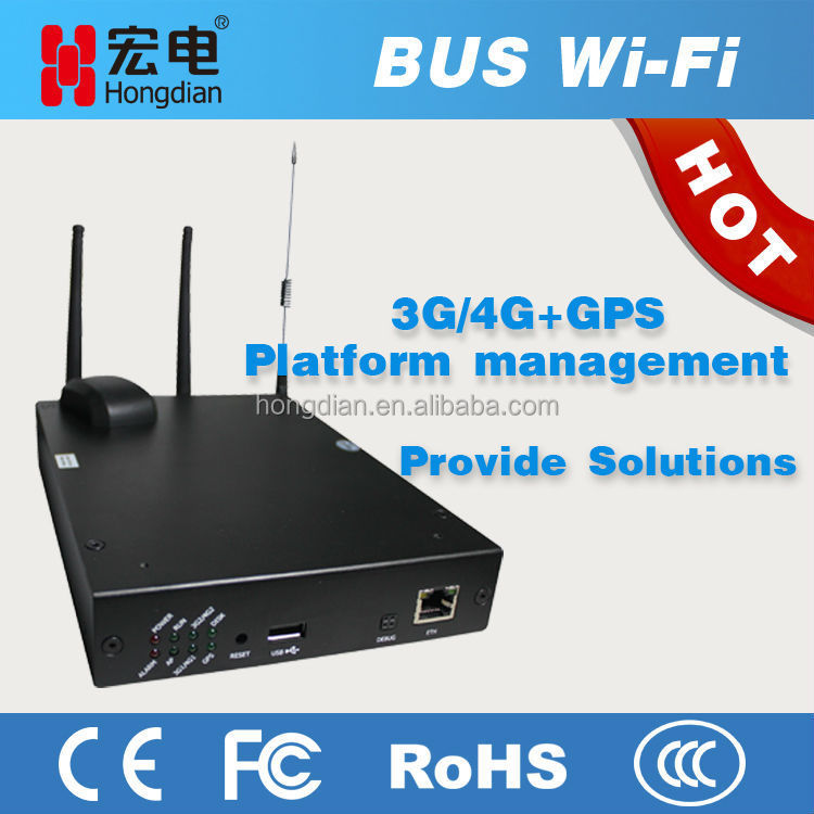 Industrial 3G wifi router dual SIM for advertisement