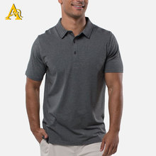 Bamboo Clothing 2019 Newest Design <strong>100</strong>% Bamboo Fiber High Quality Mens Polo T Shirts