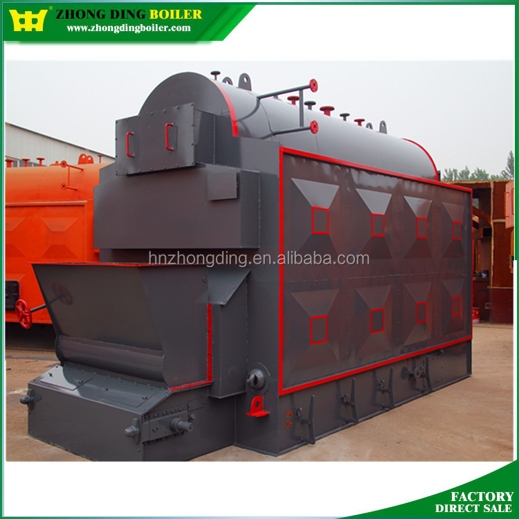 DZL Coal Wood Fired Steam Boiler, Boiler price,wood fuel and new condition 6000kg/hr briquette fired industrial steam boiler