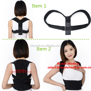 2016 hot sale! Back Posture Correction Belt Brace For Back Corrector Support