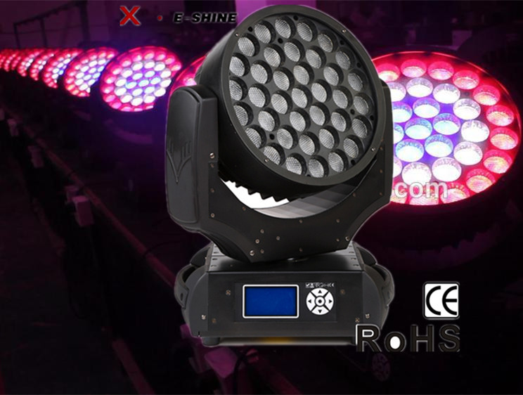 Factory price 37pcs x 10W led moving head wash zoom/ robe robin 600 copy
