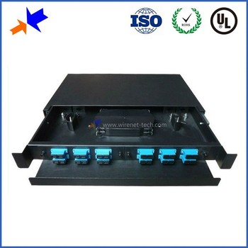 "Drawer Type SC 12 Port 19"" Rack Mount Patch Panel"