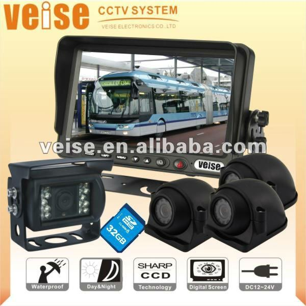 Bus camera system for public buses,passenger buses,Double deck buses