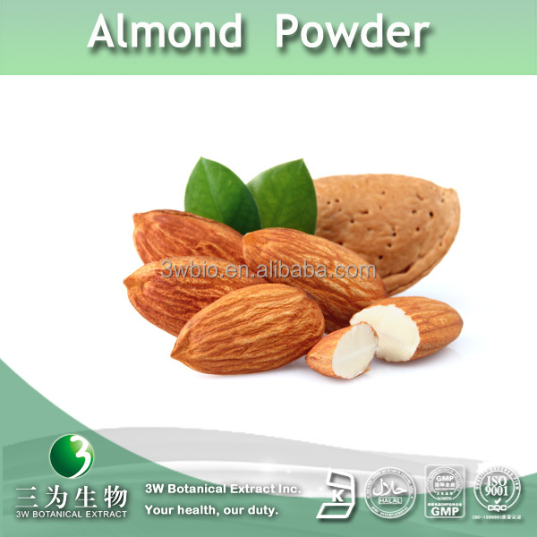 100% pure bitter almond powder