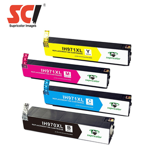 Supricolor wholesale compatible ink cartridge for hp 970 971 printer