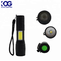 High quality LED zoom torch light handheld security flashlight