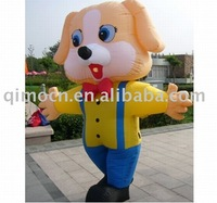 lovely dog Inflatable Moving Cartoons for advertising