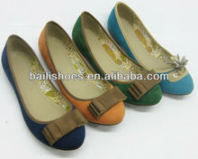 Flat shoes for girls and lady,fancy style 2013