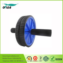 Wholesale - High quality Abdominal Wheel Ab Roller With Mat For Exercise Fitness Equipment