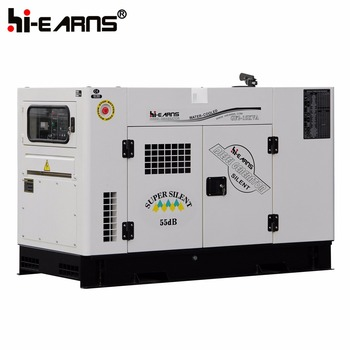GF2-15KVA super silent 55DB home use water cooled generator