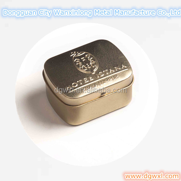 tin metal box for packing soap