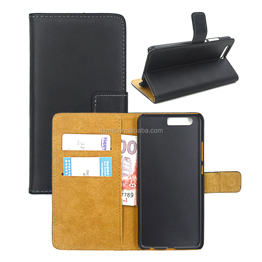 2017 Composite PU Leather Commercial Wallet Phone Case For HW P10 Plus for All Models Customized Logo