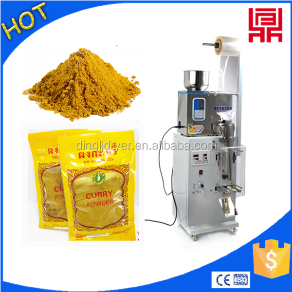 Dry grains/pepper powder bag filling machine for sale