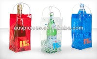 Suitable price sheer Ice bag collapsible wine cooler bag