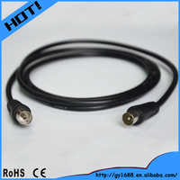 China supplier coaxial TV male to female communication cable