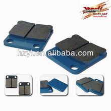 High quality chinese go kart 250cc brake pad